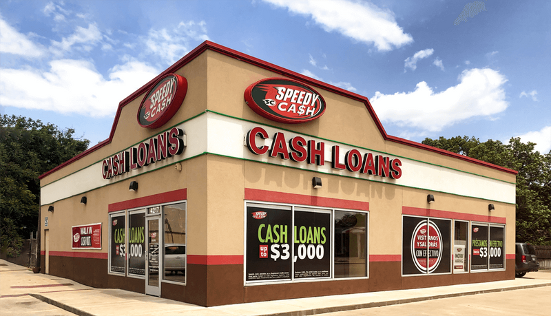 Speedy Cash Storefront